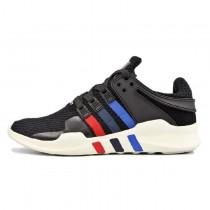 Unisex Schwarz & Blau & Rot Adidas Eqt Support Adv Primeknit S81499 Schuhe