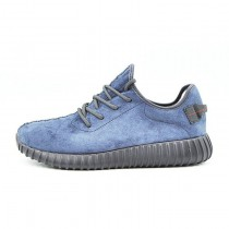 Purplish Blau/Schwarz Herren Schuhe Adidas Yeezy Boost 350 Leather Sneakersurplish Aq2661
