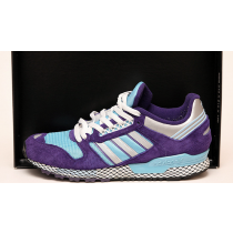 Unisex Schuhe Blau Purple Adidas Oddity Questar