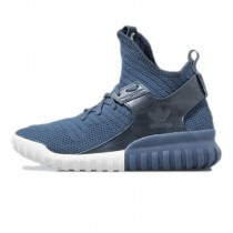 Schuhe Midnight Marine Herren Adidas Originals Tubular X Primeknit S81675