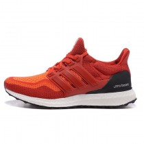 Orange Rot Adidas Ultra Boost Unisex Schuhe