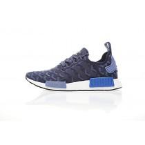 Schuhe Goyard X Adidas Nmd R_1 Boost Ba7562 Unisex Goya Blau