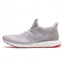 Unisex Grau & Orange Rot Schuhe Solebox X Adidas Consortium Ultra Boost Uncaged Ss80338