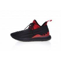 Schwarz & Rot Y-3 Qasa Elle Lace 2.0 B3385 Unisex Schuhe