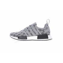 Unisex Schuhe Cucci X Adidas Nmd R_1 Boost Ba7521 Grau