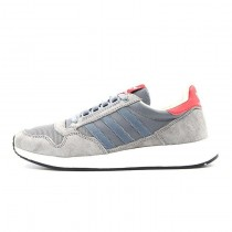 Schuhe Grau & Rot Adidas Originals Zx500 Og S79175 Unisex