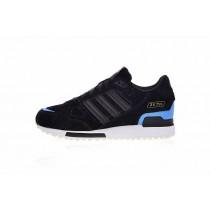 Schuhe Adidas Originals ZX 750 G96525 Schwarz & Weiß & Blau Herren