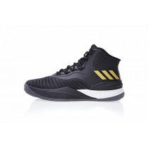 Schwarz & Gold Unisex Adidas D Rose 8 Cq1618 Schuhe