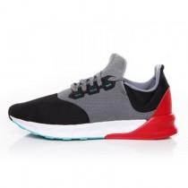 Grau & Schwarz & Weiß & Rot Unisex Schuhe Adidas Falcon Elite 5 Af6422