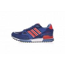 Marine & Rot & Weiß Unisex Adidas Originals Zx 750 M18260 Schuhe