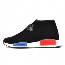 Schuhe Adidas Nmd C1 Original Boost Chukka S79148 Unisex Schwarz & Blau & Rot