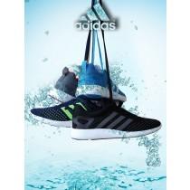 Unisex Schuhe Schwarz & Weiß Adidas Primeknit Pure Boost Ack