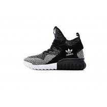 Schuhe Dunkel Grau & Schwarz Herren Adidas Originals Tubular X Primeknit Bb2379