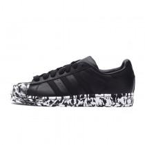 Schuhe Adidas Superstar Marble Aq4659 Unisex Schwarz