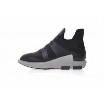 Schuhe Unisex Adidas Y-3 Noci Low Cg3181 Schwarz & Dunkel Grau