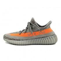 Schuhe Steel Grau/Beluga-Solar Rot Adidas Yeezy Boost V2 Bb1826 Unisex