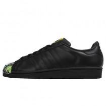 Adidas Originals Superstar Mr. Supershellrtwork Girl Pig Mr S83358 Damen Core Schwarz Schuhe