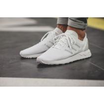 Schuhe Unisex Mesh Weiß Adidas Originals Zx Flux Racer Zxs79001
