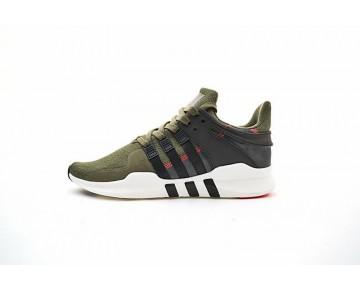 Dunkel Grün & Schwarz Herren Adidas Eqt Support Adv Primeknit 93 S76961 Schuhe