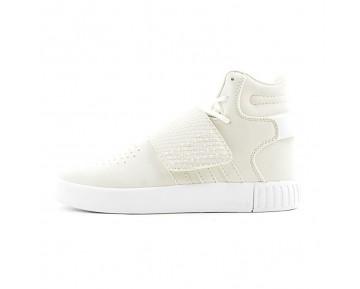Unisex Schuhe Adidas Tubular Invader Strap Bb5038 Rice Weiß