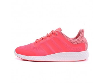 Adidas Pure Boost Chill S81459 Schuhe Flash Rosa Rot Damen