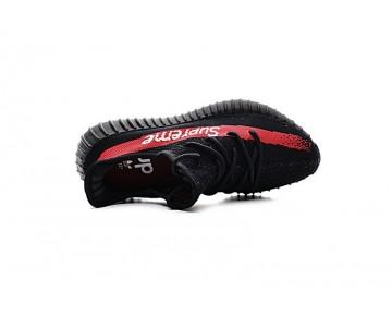 Schwarz & Rot Schuhe Unisex Adidas Yeezy 350V2 Boost Supreme