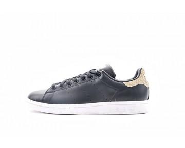Unisex Schuhe Schwarz Snake Adidas Originals Stan Smith Aq4858