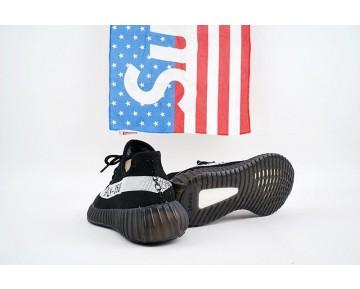 Schuhe Adidas Yeezy Boost 350V2 By1604 Schwarz & Weiß Herren