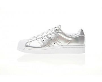 Adidas Superstar Boost Bb2271 Damen Liquid Silber Schuhe