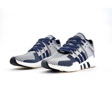 Adidas Eqt Support Adv Primeknit Ba8333 Schuhe Tief Blau & Grau Unisex