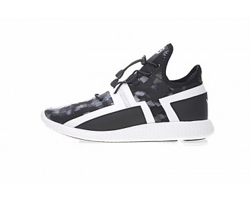 Schuhe Schwarz Grau Yohji Yamamoto Y-3 Arc Rc S77214 Herren