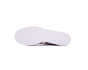 Adidas Originals Gazelle S76228 Universität Rot & Weiß Schuhe Unisex