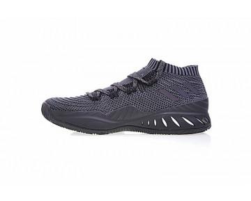 Schwarz & Charcoal Grau Schuhe Adidas Crazy Explosive Primeknit Low By4570 Unisex