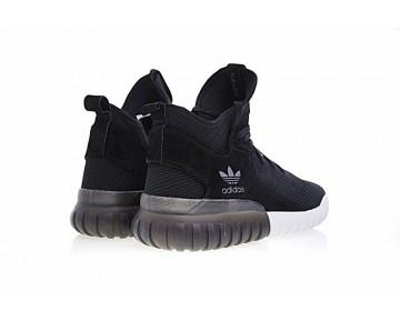 Schuhe Herren Adidas Originals Tubular X Primeknit S80128 Schwarz & Weiß