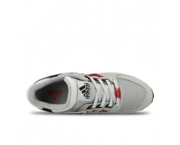Schuhe Grau & Schwarz & Rot Unisex Adidas Eqt Running Support B40400