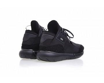 Schuhe Y-3 Qasa High B26390 Schwarz Snake Herren