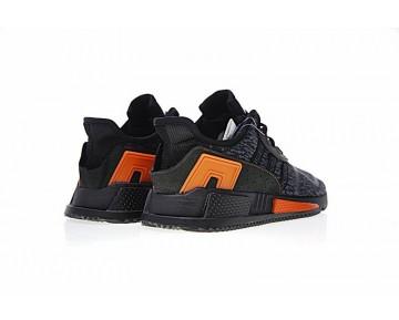 Schuhe Herren Vlone X Adidas Eqt Cushion Adv Bb1320 Schwarz & Grau Orange