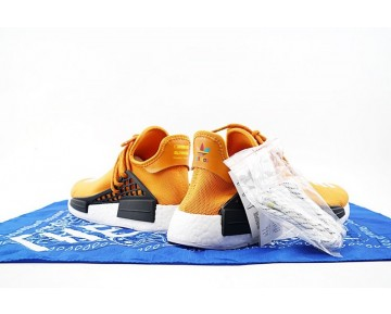 Pharrell Williams X Adidas Originals Nmd Human Race Bb3070 Orange Gelb Unisex Schuhe