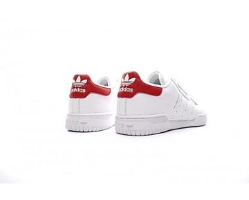 Yeezy X Adidas Originals Powerphase Cq1694 Weiß & Rot Herren Schuhe
