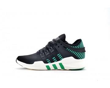 Schuhe Adidas Eqt Support Adv Primeknit Ba8330 Schwarz & Grün Unisex