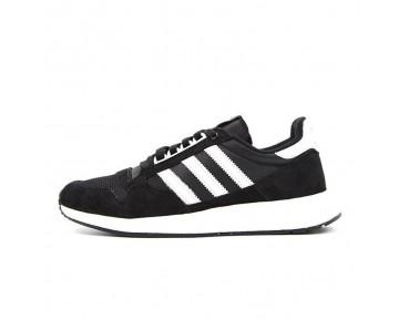 Unisex Schwarz & Weiß Schuhe Adidas Originals Zx500 Og Boost S79176