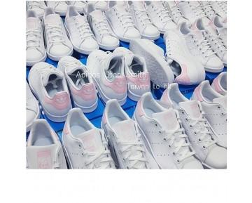 Schuhe Unisex Snake Weiß Rosa Adidas Stan Smith Ba9858
