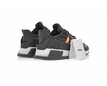 Schuhe Herren Adidas Eqt Cushion Adv By9506 Dunkel Grau & Orange Rot