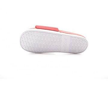 Schuhe Unisex Adidas Adilette Cf+ Aq4935 Rot & Weiß