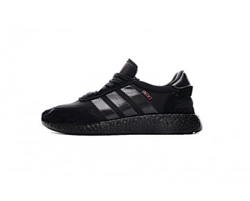 Adidas Iniki Runner Boost Bb2101 Herren Schwarz & Rot Schuhe