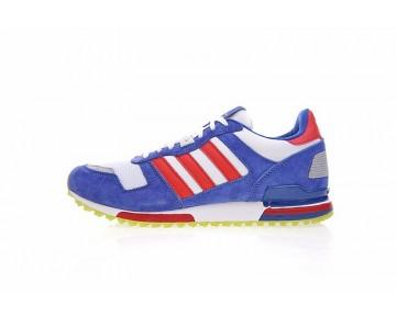 Adidas Originals ZX 750 S77322 Schuhe Unisex Blau & Campus Rot