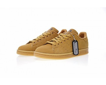 Schuhe Adidas Originals Stan Smith Bb0055 Wheat Gelb Unisex