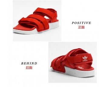 Unisex Rot Adidas Adilette Sandal W S75380