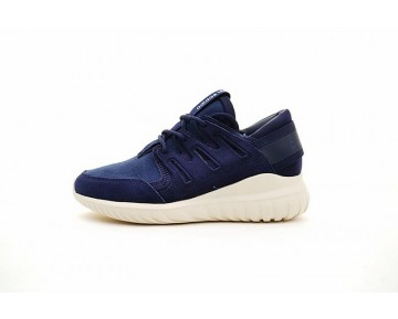 Herren Tief Blau & Weiß Schuhe Adidas Tubular Nova S74822