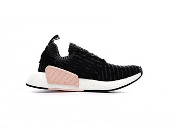 Schwarz & Powder Rosa Herren Schuhe Adidas Originals Nmd R2 Primeknit Ba7239